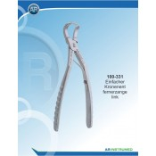 Extraction Forceps Anatomical Handle